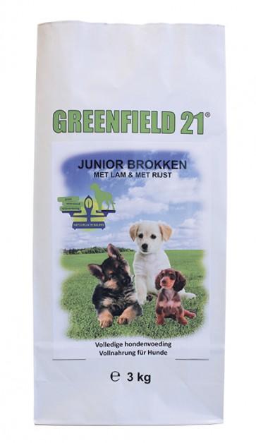Greenfield 21 Puppy&Junior Lam&Rijst 3kg