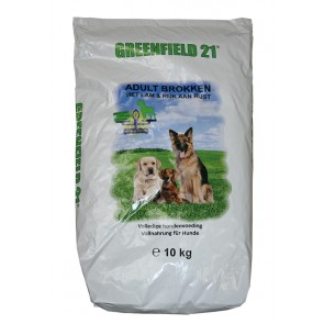 Greenfield 21 Adult High Energy 10kg