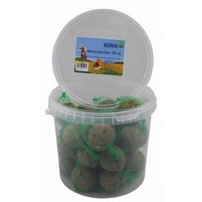 30 Mezenbollen in een Emmertje