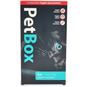 Petbox Kat 1-2 Kg 1 st.