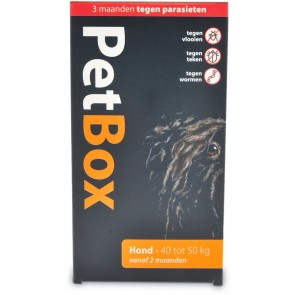 Petbox Hond 40-50 Kg 1 st.