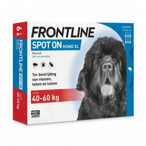 Frontline® Spot On Hond XL, 40 tot 60 kg 3+1