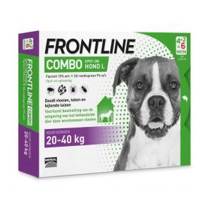 Frontline Combo® Hond L, van 20 tot 40 kg 4+2
