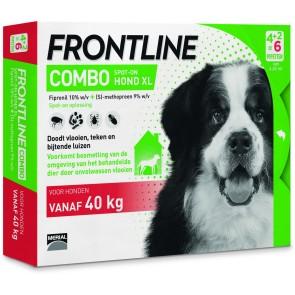 Frontline Combo® Hond XL, van 40 tot 60 kg 4+2