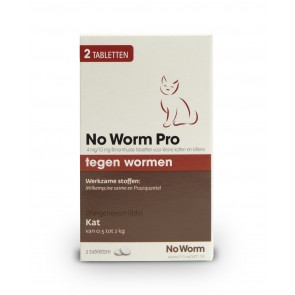 Exil No-Worm Pro Kitten 2 tablet
