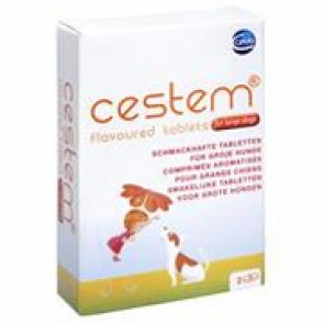 Cestem Hond S/M Wormtabletten 2 tablet