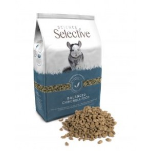 Science Selective Chinchilla Food 1.5 kg