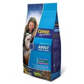 Canex Adult Vis&Rijst 12,5kg