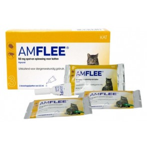 Amflee 50 mg Spot-on Kat (>1kg)