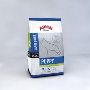 Arion Puppy Large Breed Kip&Rijst 12kg