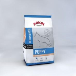 Arion Puppy Medium Zalm&Rijst 12kg