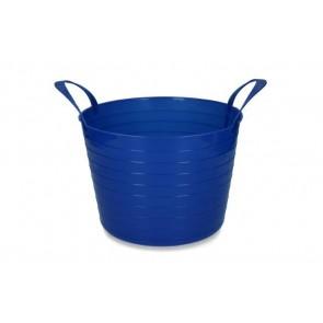 Emmer V-Trug Flexi Blauw 14 liter