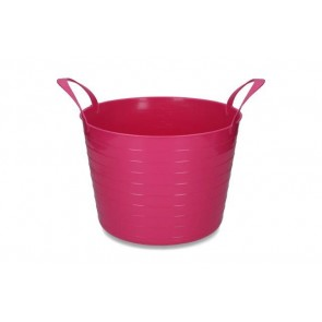 Emmer V-Trug Flexi Roze 14 liter
