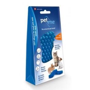 Pet+Me Cat short hair brush blue