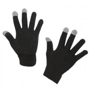 Rijhandschoen Magic Touch zwart 1size4all