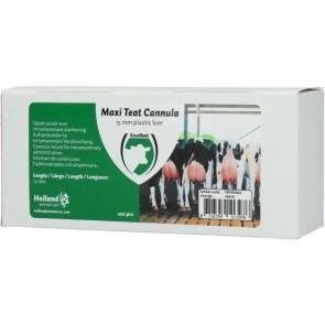 Maxi Teat cannula 15 mm plastic luer